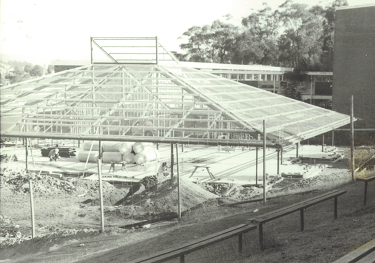 1983 library construction image